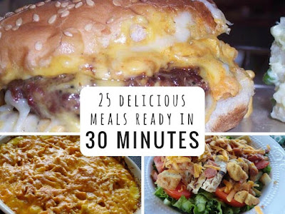 25 Easy Recipes Ready in 30 Minutes