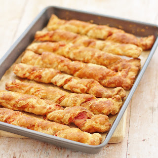 Bacon and Cheese Straws Recipe
