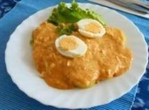 Peruvian Spicy Creamed Chicken - Aji De Gallina Recipe