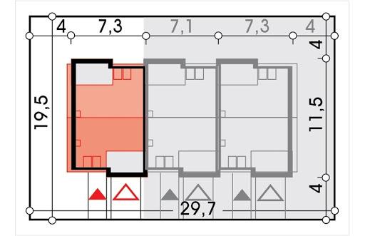 Emil segment skrajny lewy - Sytuacja