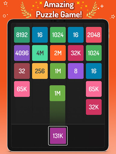 X2 Blocks - Merge Puzzle 2048 apkslow screenshots 11