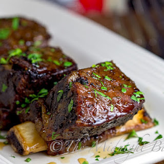 Slow Cooker Maple Glazed Short Ribs.