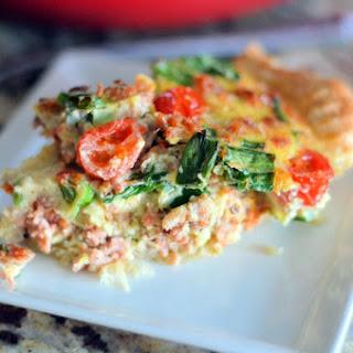 Italian Sausage Tart