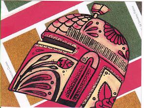 Photo: Wenchkin's Mail Art 366 - Day 156, card 156a