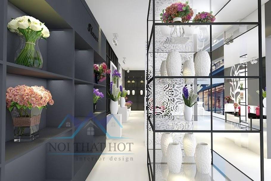 thiết kế cửa hàng hoa tươi hàng đầu việt nam
