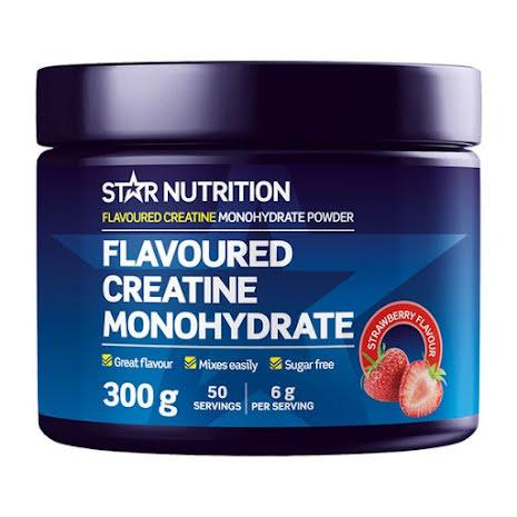 Flavoured Creatine Monohydrate 300g - Strawberry