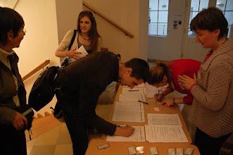 Photo: Prezentace účastníků.