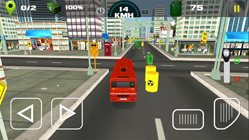 simulateur d'autobus ville moderne - d'entrau00eeneur  captures d'u00e9cran 2