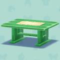 みどりのテーブル