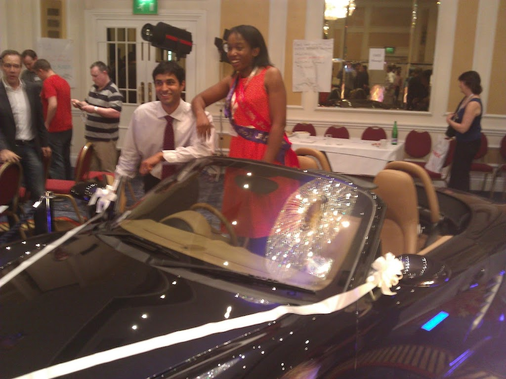 Rosemary Nonny Knight Winning A porsche