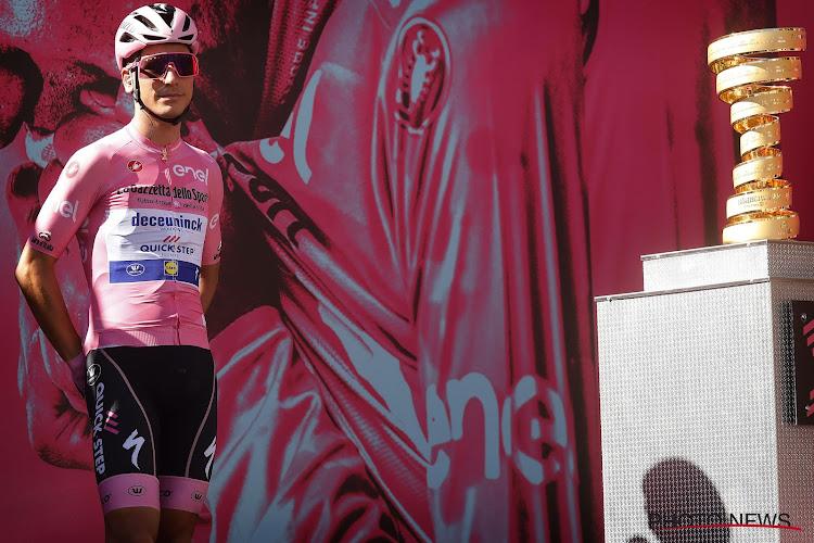 """Almeida valt, maar kan hij de Giro winnen? """"Ik heb nog nooit koers van drie weken gereden, ik heb geen idee"""""""