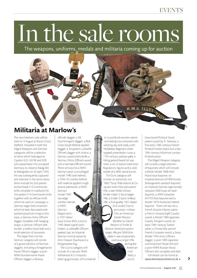 The Armourer Magazine- screenshot
