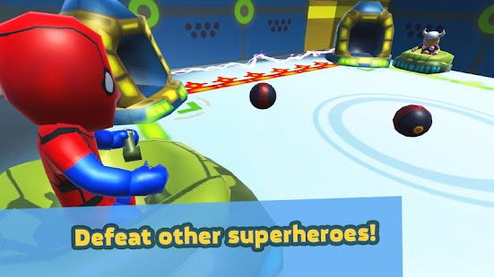 Multiball Superhero Air Hockey - Funny Goalkeepers - náhled