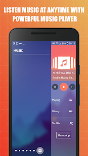 Edge Screen: Sidebar Launcher & Edge Music Player Screenshot
