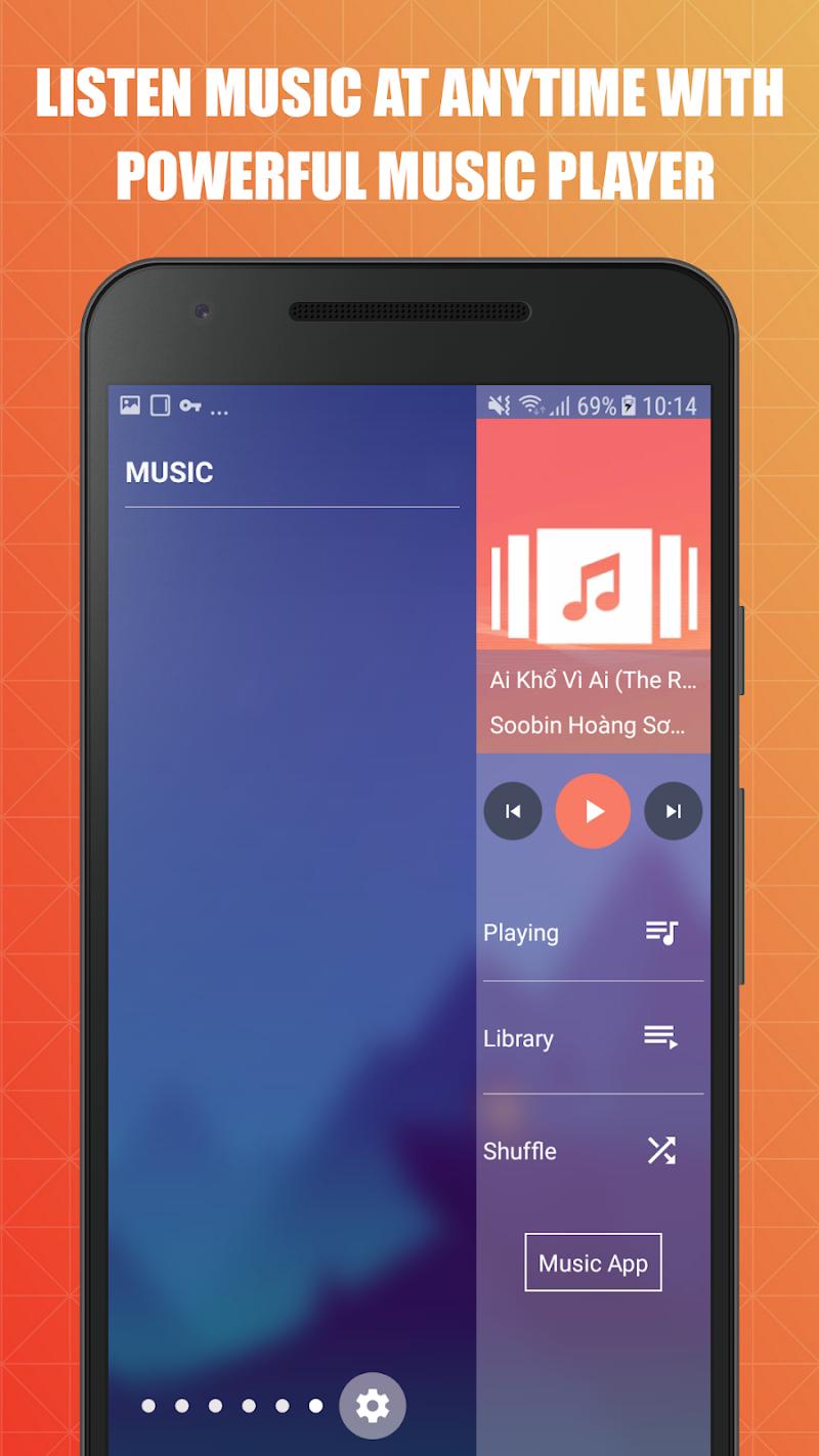 Edge Screen: Sidebar Launcher & Edge Music Player Screenshot 6