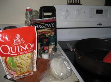 Quinoa-stuffed Green Peppers Recipe
