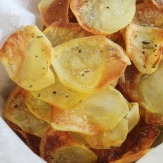 Irresistible Baked Potato Chips