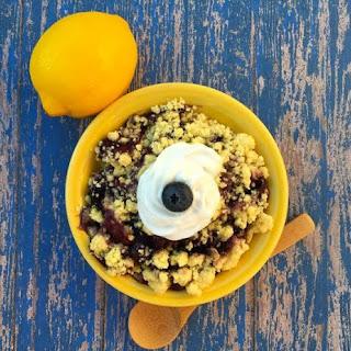 3 Ingredient Dump Cake Recipe! (Lemon Blueberry).