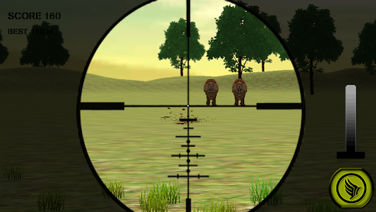 Wild Lion Hunting Sniper 3D screenshot 2