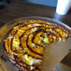 Gf bbq pizza soooo good