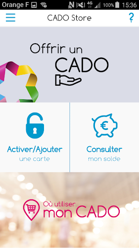 CADO Store Android App Screenshot