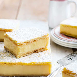 Custard Ice Slices Recipes.