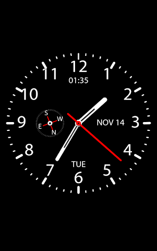Clock Live Wallpaper 1.34 screenshots 1