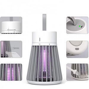 Lampa UV antiinsecte 1.2W, USB, 1200mAh, curea suspendata