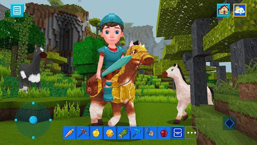 Terra Craft: Build Your Dream Block World apklade screenshots 1