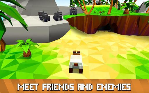 Blocky Panda Simulator - be a bamboo bear! 2.2.4 screenshots 2