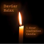 Relax: 1 Hour Meditation Candle