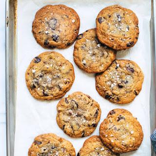 Triple Chocolate Chip Cookies.