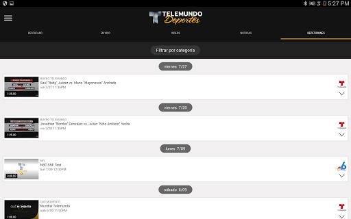 Telemundo Deportes - En Vivo screenshot 10