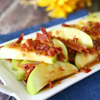 Bacon Caramel Apple Wedges