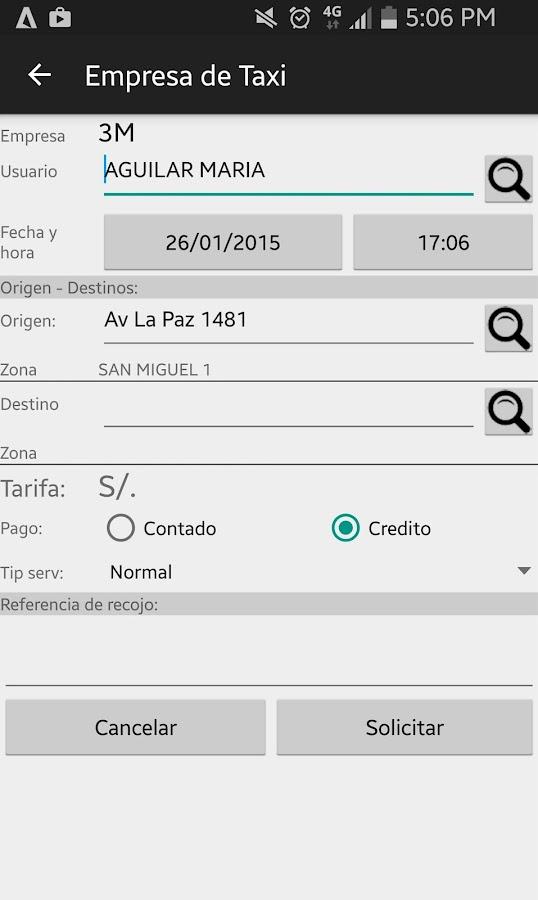 Peru Taxi - Corporativo - Izinhlelo ze-Android ku-Google Play