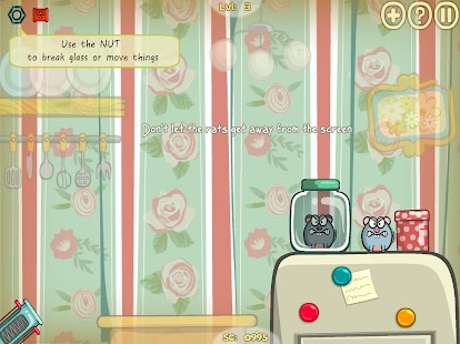 Rats Invasion 2 : Physics Puzzle Game Screenshot