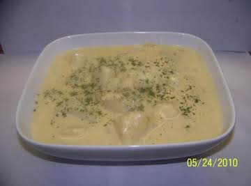 Cheesy Crockpot Potatoes