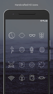 Lines – Icon Pack (Free Version) 1