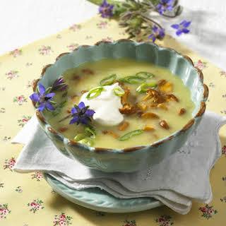 Creamy Mushroom and Potato Soup.