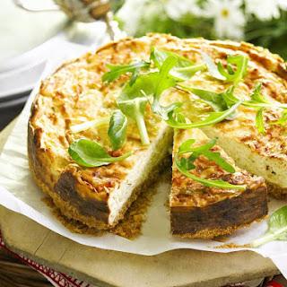Savory Gruyère Cheesecake