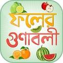 কোন ফলে কি ভিটামিন fruits benefit icon