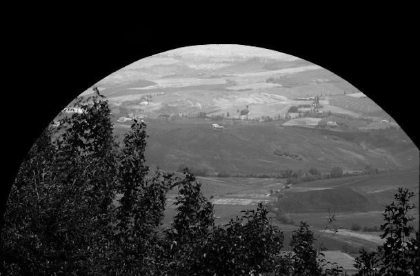 Guardo dalle mura di montalcino....e di silviotta