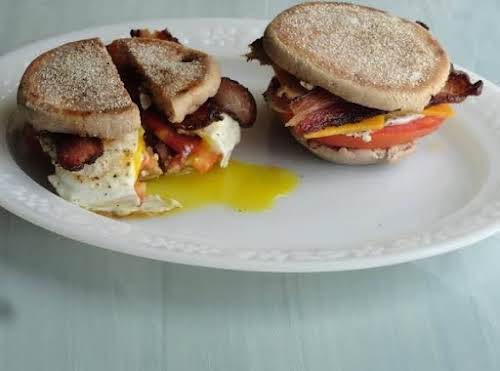 "Fried Egg Sandwich With Style, Part 2""I love eggs and everything that..."