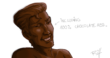 a chocolate man for Ery