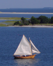 Photo: Nice old sailboat in the inlet