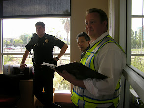Photo: Campus police attend exercise.