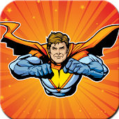 Superheroes Coloring Book