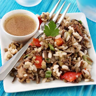 Rice and Lentil Salad.