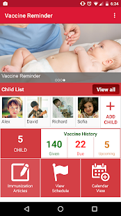 Vaccine Reminder- screenshot thumbnail