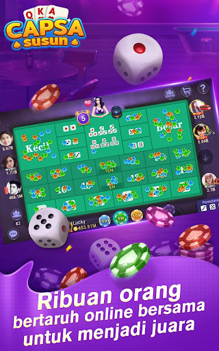 Capsa Susun Online:Poker Free screenshots 12